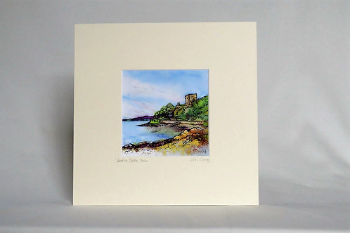 Dunollie Castle - Mounted Print