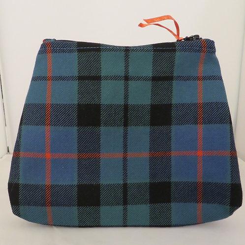 Morrison Dress Tartan Handmade Zip Bag