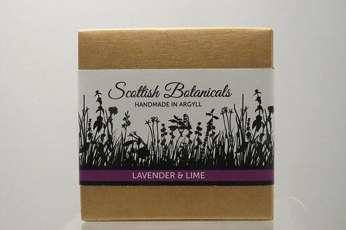 Lavender & Lime - Scottish Botanicals Soap