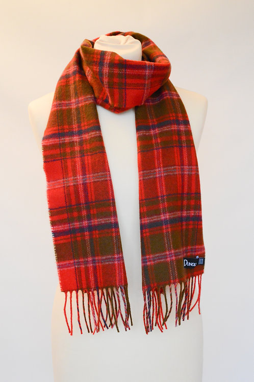Heritage MacDougall Brushed Wool Tartan Scarf