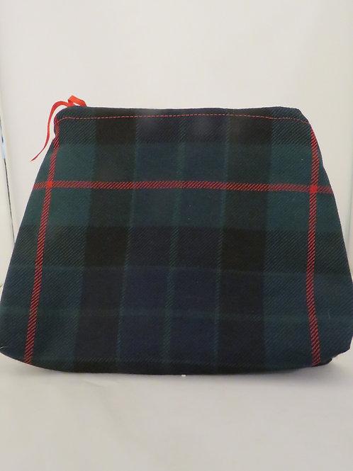 Gunn Tartan Handmade Zip Bag