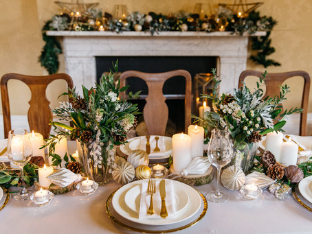 Luxurious Festive Tablescapes