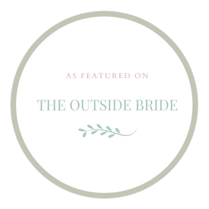 The Outside Bride Feature Badge