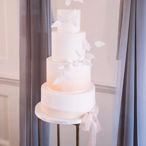 Wedding Cake Stand Plinth Gold
