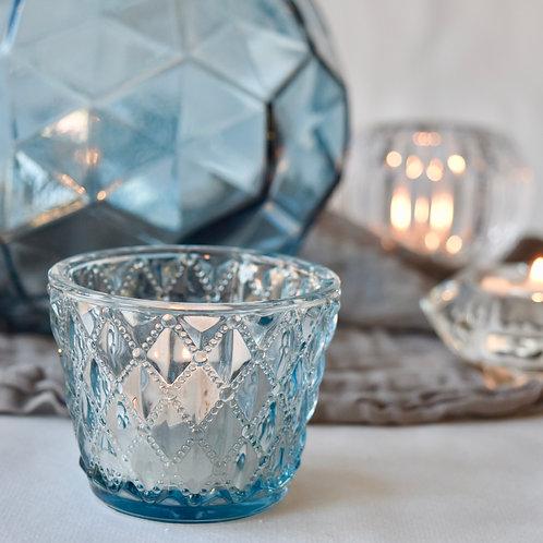 Patterned Glass Tea-light