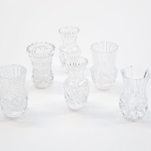 Crystal & Cut Glass Mini Vase