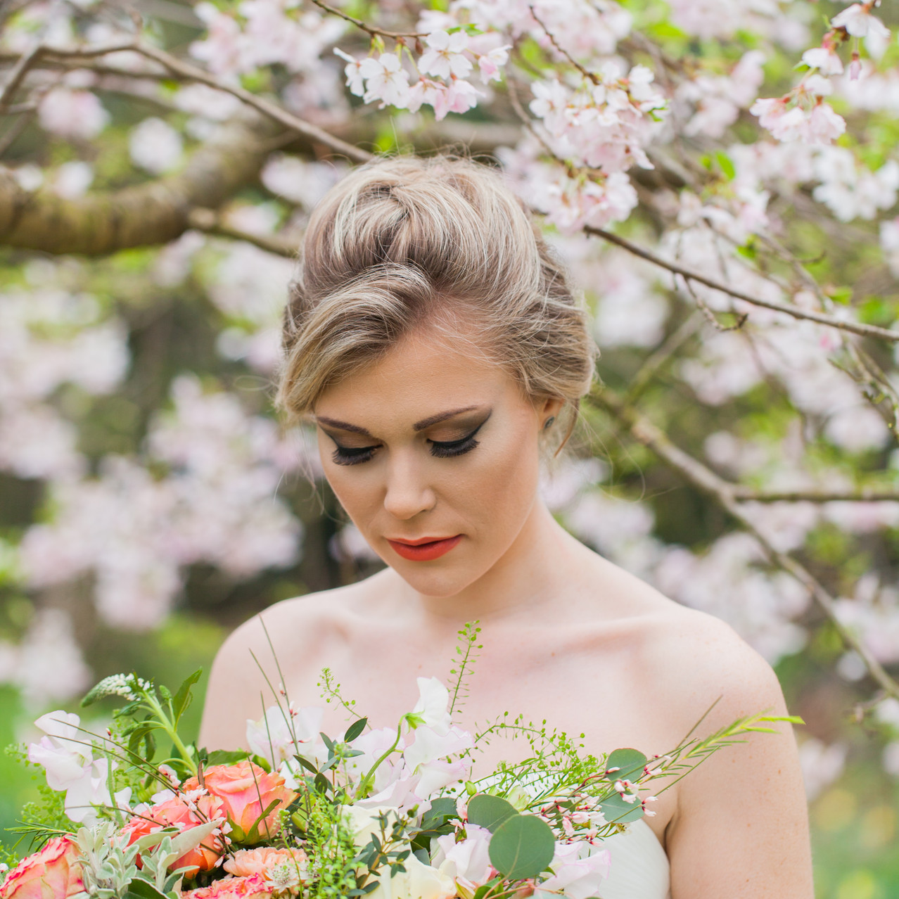 Bride In The Blossom