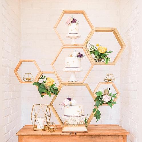 'Honey' The Honeycomb Inspired Cake Stand