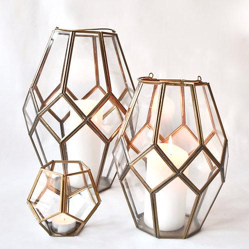 Honeycomb Lantern Terrarium