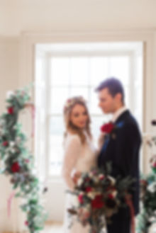 Modern Rich and Romantic Wedding Inspira