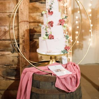 Wedding Cake Barrel Cake Hoop Essex Wedd