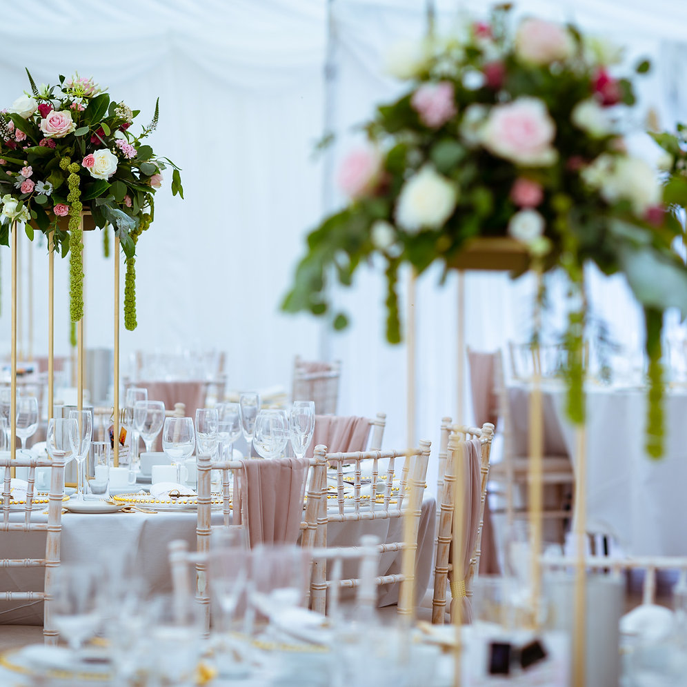 70cm Flower Stand Hire For Weddings and Events