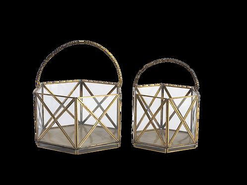 Hexagonal Basket Lantern