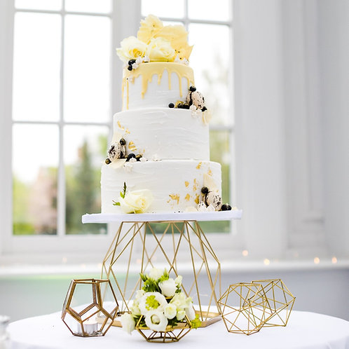 Geometric Cake Stand