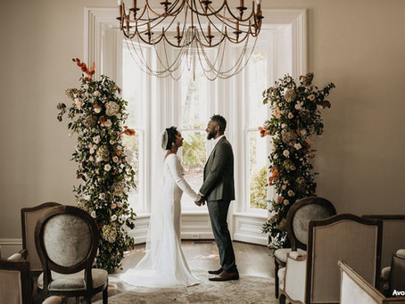 How to Style Intimate Winter Weddings