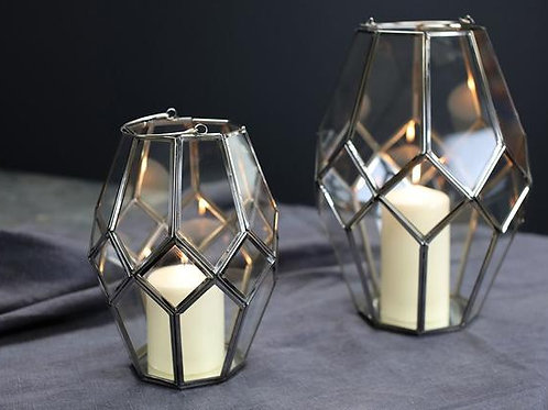 Chrome Mohani Lantern