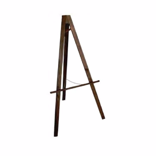 Wooden Easel Hire Dark Oak
