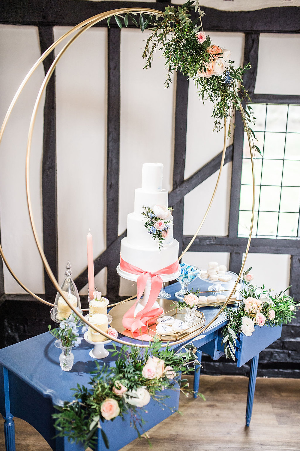 Cake Hoop Hire for Cakes in London and Essex Weddings