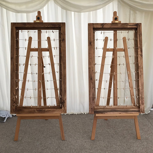 Polaroid Guest Book Frame / Large Framed Photo Display Table Plan