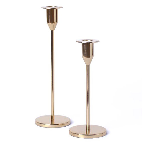 Brass Candlestick Pairs
