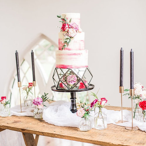 Industrial Wedding Cake Styling Props