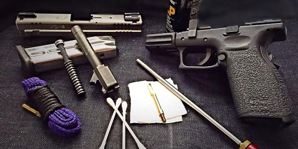 Handgun Cleaning Session
