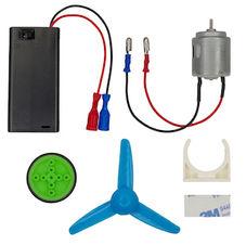 Plug and play motor parts