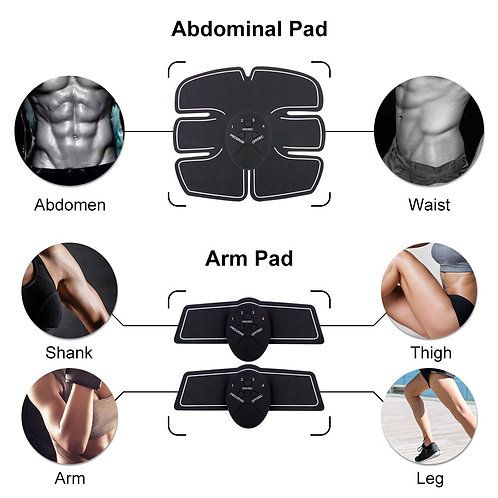 EMS Muscle Toner for Abs, Legs and Arms