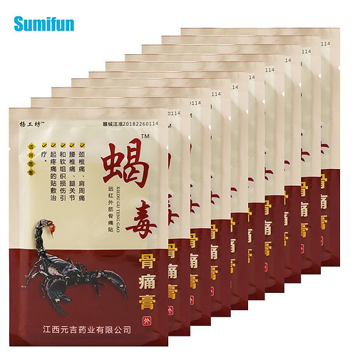 Arthritis Joint Pain Relief Patch - Chinese Herbal Medicine