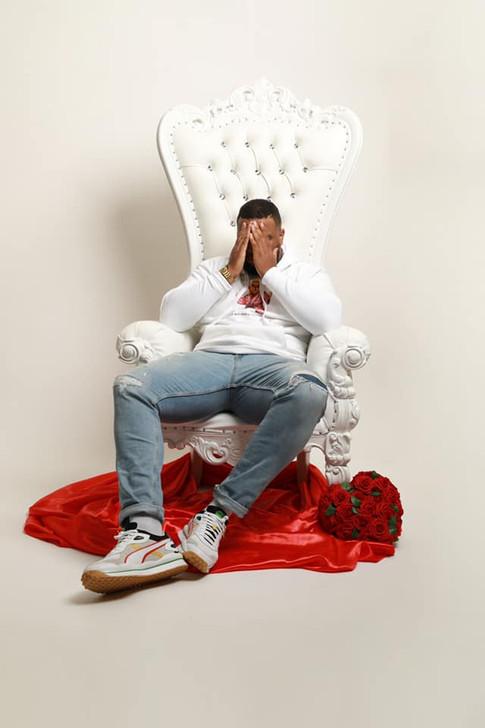 White Throne Chair