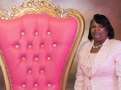 Hot Pink Throne Chair