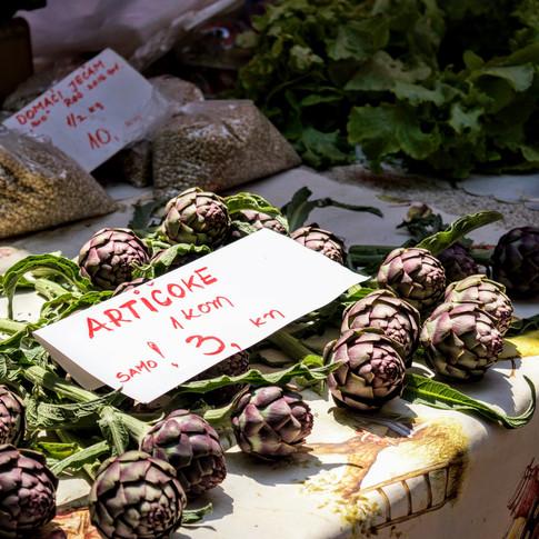 Farmers Market, Pula, Croatia