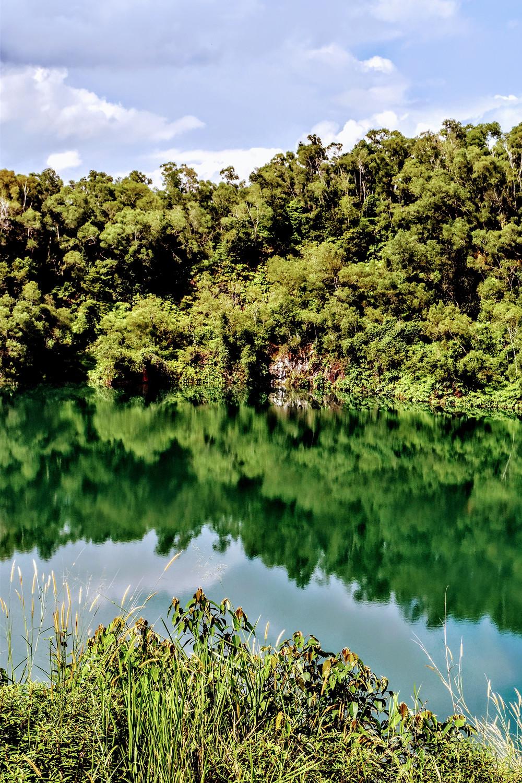 reflection photography on Pulau Ubin