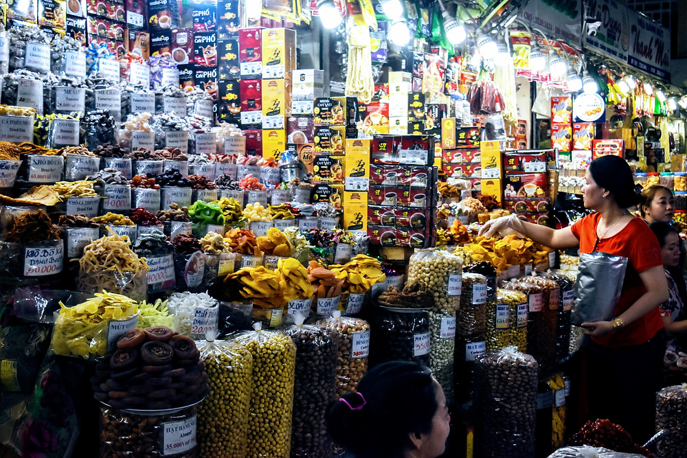 Candies for Sell at Vietnamese Market