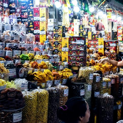 Ben Thanh Market-HCMC