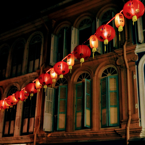 China Town at Night