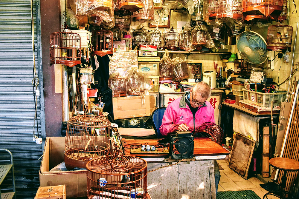 Bird Cage maker in Kowloon