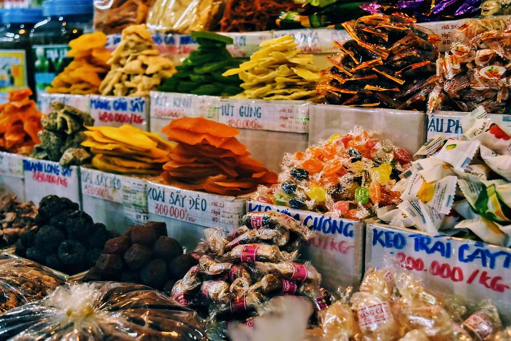 Candies at Ben Thanh Market