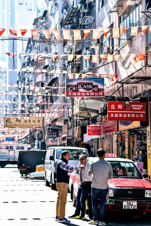 Kowloon street market