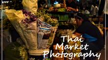 Thai Market Photography