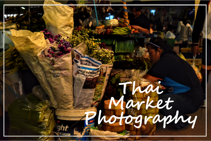 Thai Market Photography