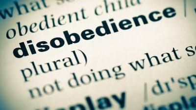 Notice of Adverse Action: Willful Disobedience
