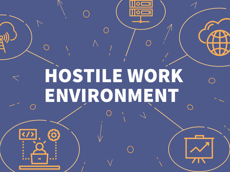 7 Things to Know About Hostile Work Environment Sexual Harassment