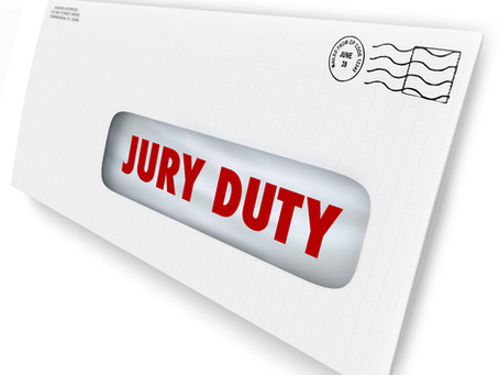 Time Off For Jury Duty: Four Things to Know