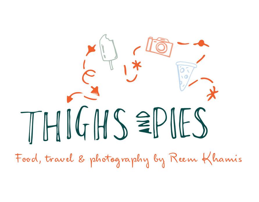 Main logo thighs and pies website portfo