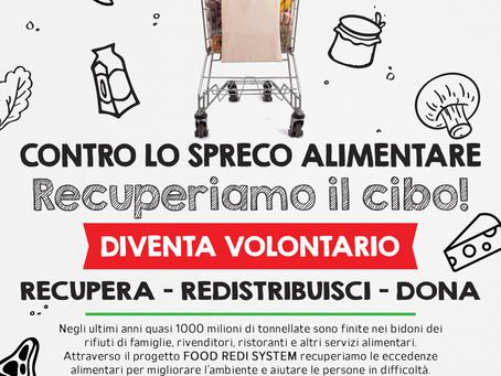 FOOD REDI SYSTEM: DIVENTA VOLONTARIO