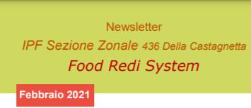 FOOD REDI SYSTEM NEWSLETTER FEBBRAIO 2021