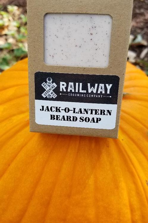 Jack-O-Lantern Beard Soap