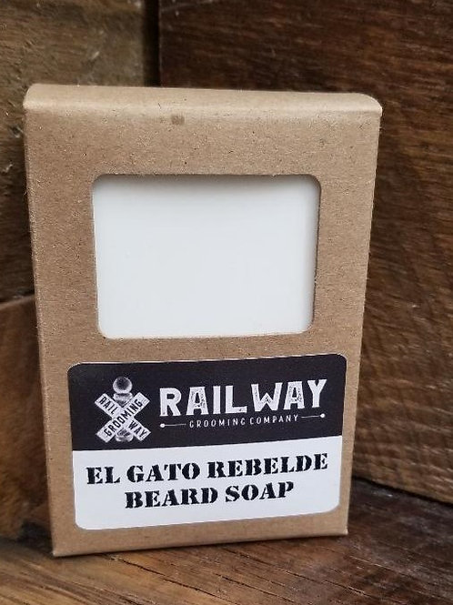 El Gato Rebelde Beard Soap