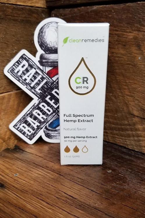 Clean Remedies 900mg Full Spectrum Hemp Extract Oil